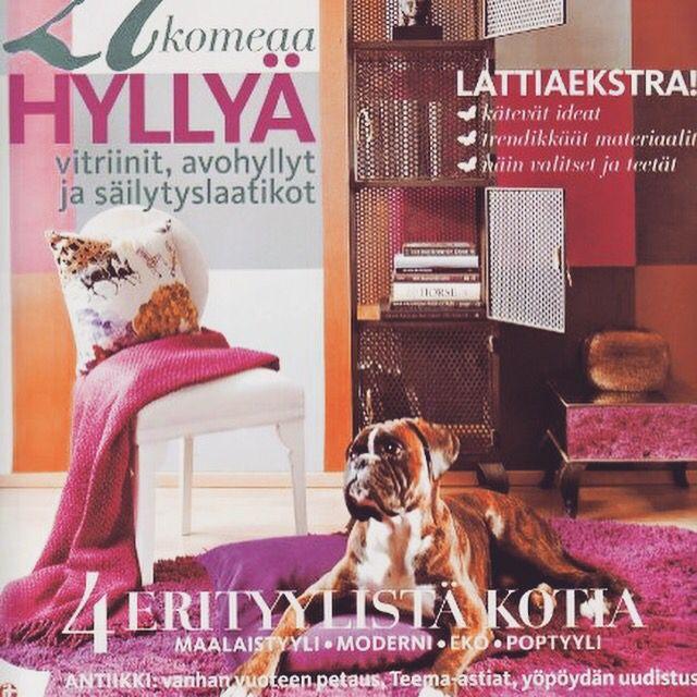 Ukko at the cover of Avotakka magazine