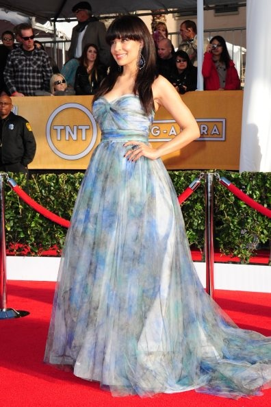 Zuleikha Robinson at the 2013 SAG Awards