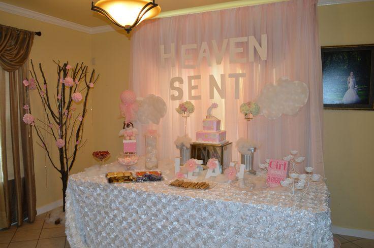 Heaven Sent baby shower