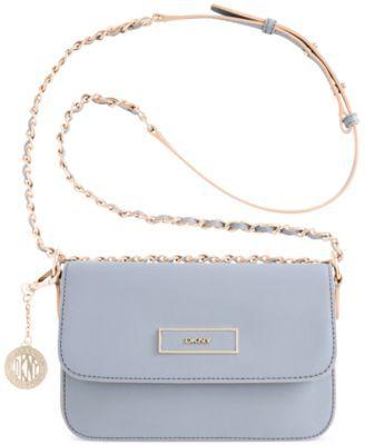baby blue dkny bag