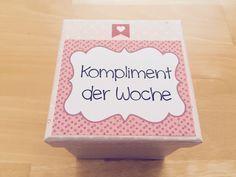 materialwiese: Kompliment der Woche in der Grundschule