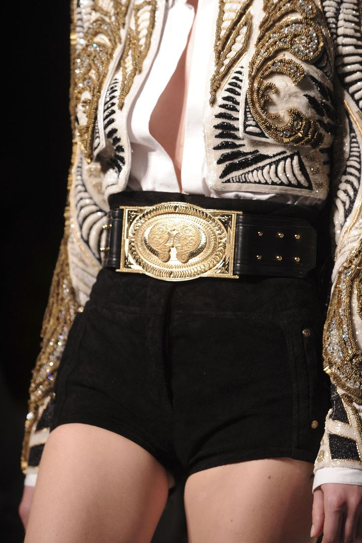 Balmain at Paris Fashion Week Spring 2012 - StyleBistro