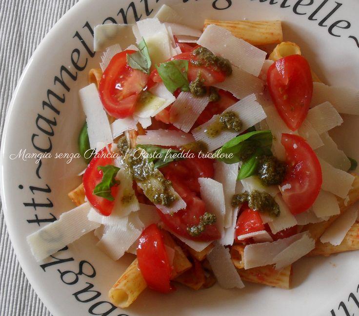 Pasta fredda tricolore, ricetta riciclo