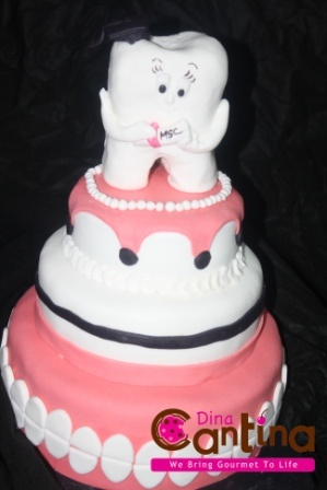Fancy Tooth Cake Follow Phan Dental Today! https://www.facebook.com/phandentalyeg https://twitter.com/PhanDental