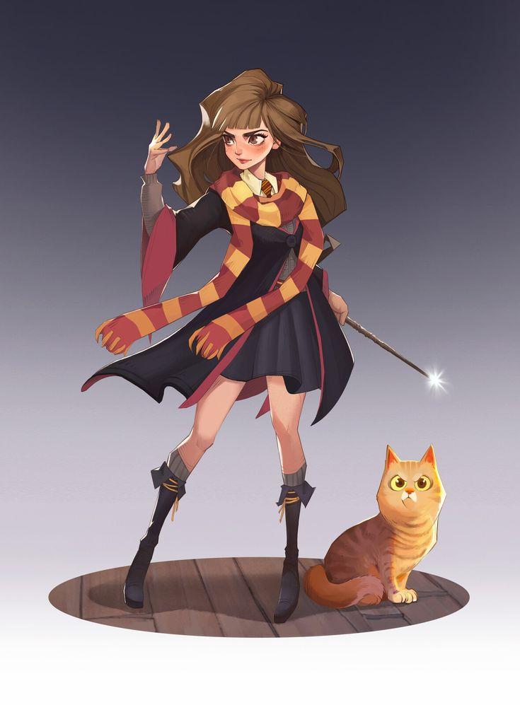 Hermione Granger, Wenhao Zhang on ArtStation at https ...