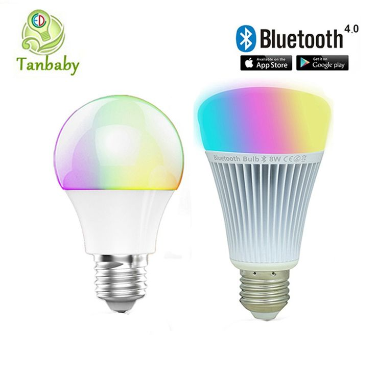 12.38$  Buy now - http://aliz48.shopchina.info/go.php?t=32685963293 - Tanbaby  Bluetooth LED bulb E27 RGBWW AC85-265V Bluetooth 4.0 Smart LED Light  lamp Dimmable spotlight by IOS / Android APP 12.38$ #bestbuy