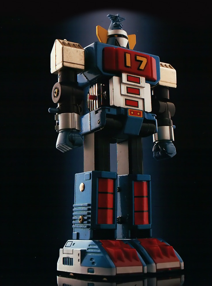 Daitetsujin-17 #robot