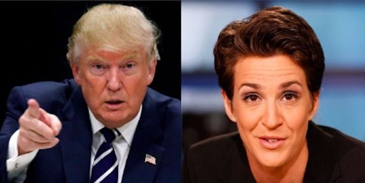 Trump Just Issued This Incredibly Chilling Threat to a Rachel Maddow Producer