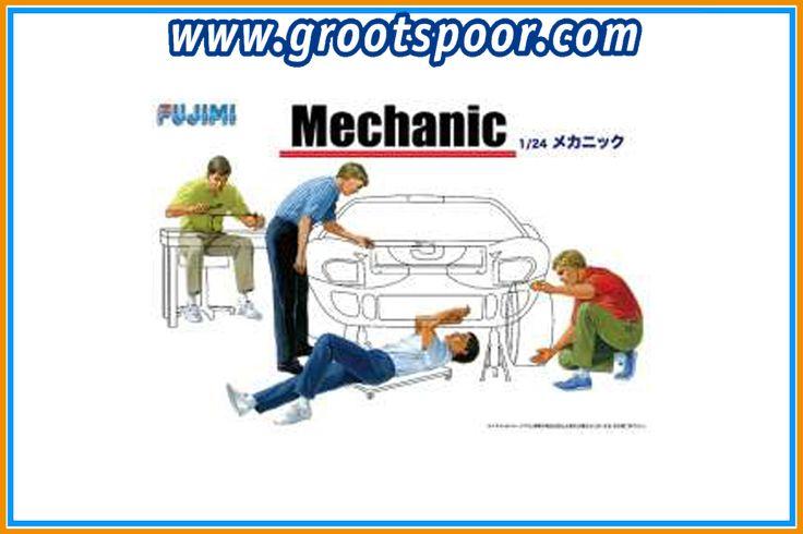 Gsdccfuj 000114903 Mechanic Figures Set  Plastic Modelkit