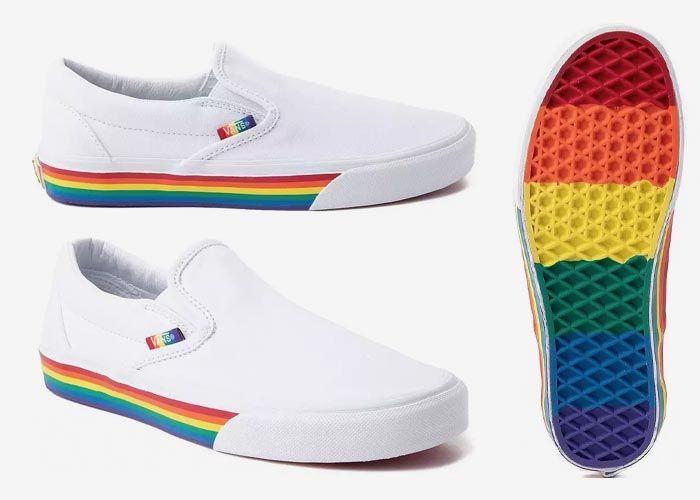Vans Rainbow Pride Slip On 2019