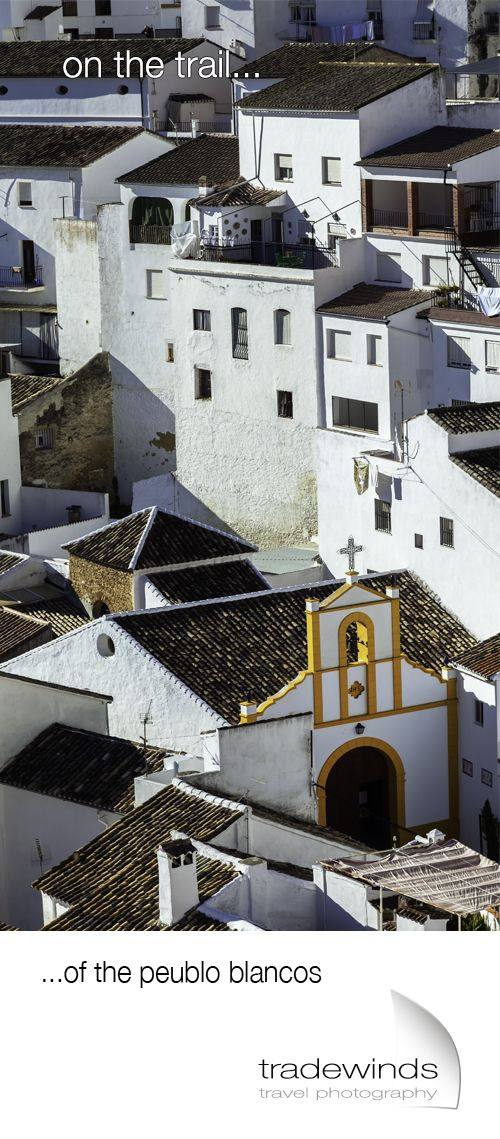A glimpse into Spain's famous whitewashed towns.