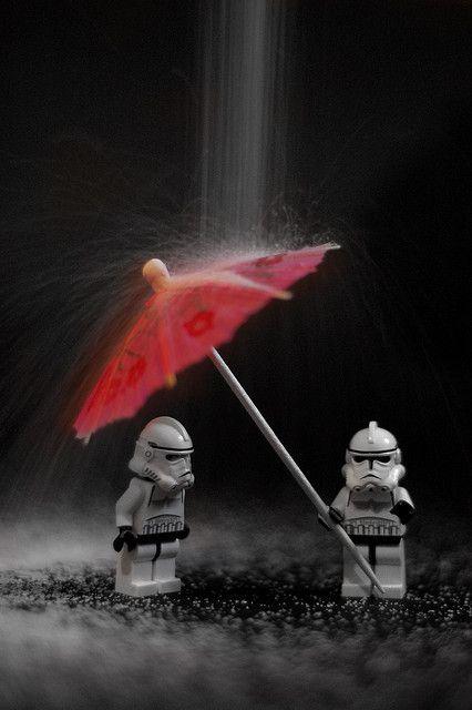I love Lego Star Wars figures!