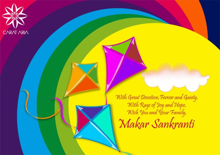 With Great Devotion, Fervor and Gaiety, With Rays of Joy and Hope,Wish You and Your Family, HAPPY MAKAR SANKRANTI!