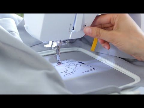 bernette embroidery software Customizer: stitching out a design - YouTube