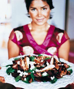 Chilikyckling med färska betor, bacon och getost / Middagstips ~ Recept | Leila Lindholm (leila.se)