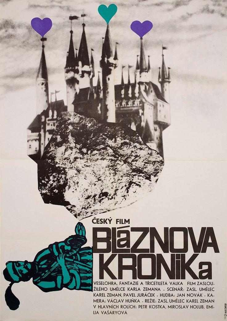 Czech poster for THE JESTER'S TALE (Karel Zeman, Czechoslovakia, 1964)Designer:JiříHilmar (b. 1937)Poster source: Posteritati