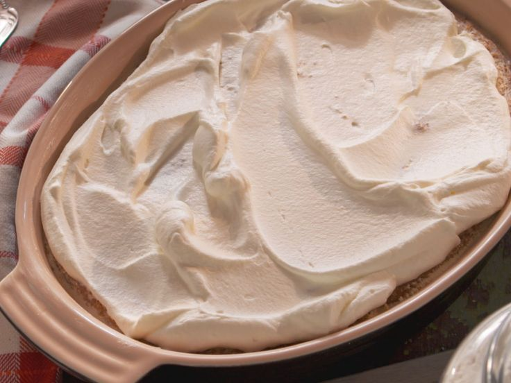 Hasty Pudding with Whipped Cream recipe from Nancy Fuller via Food Network