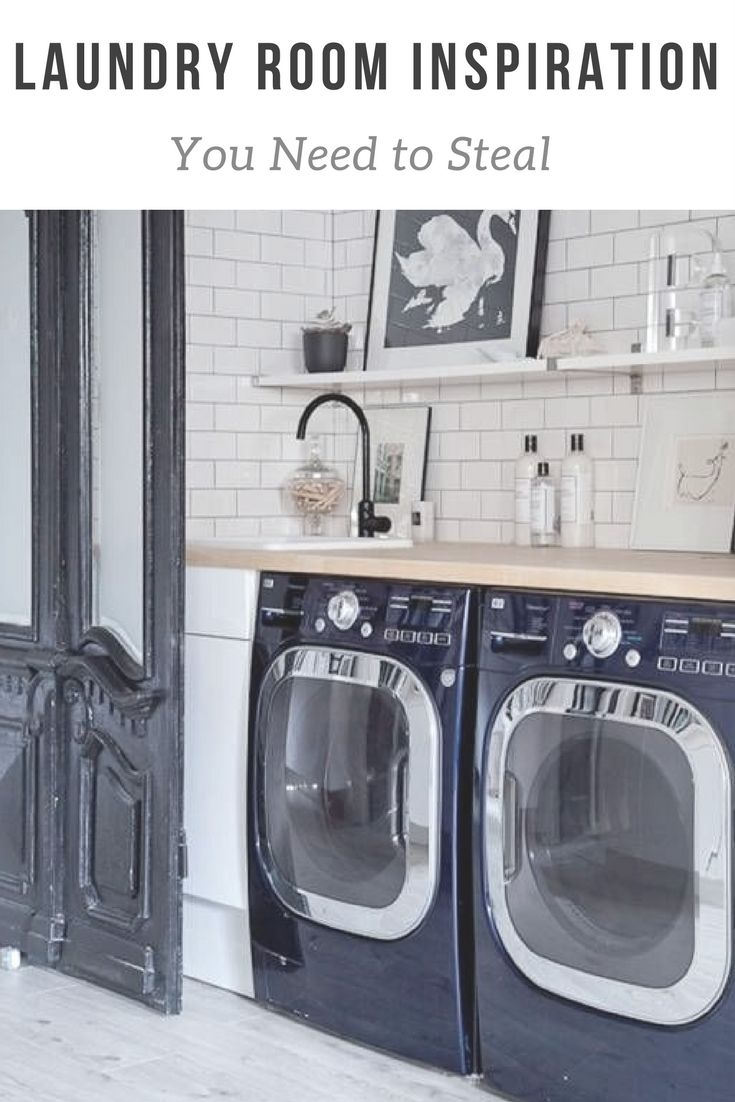 Laundry Room Inspiration You Need to Steal | the INSPIRED home