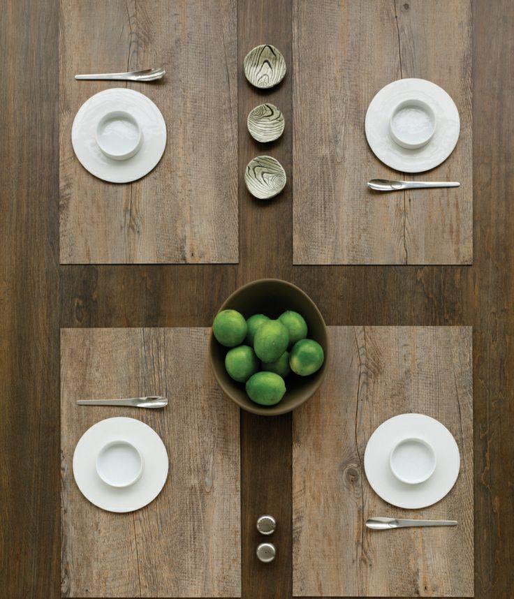 chilewich rectangle faux bois placemats