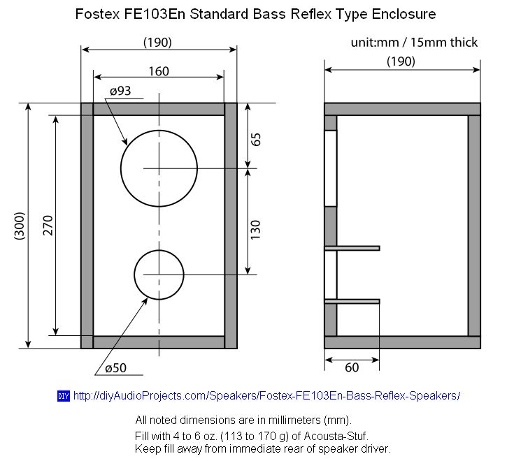 New Speaker Cabinet Design Plans