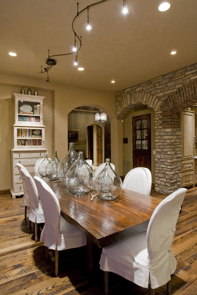 Mediterranean style dining room French provincial dining chairs with short  white slipcovers medium toned hardwood tableBest 25  Mediterranean dining tables ideas on Pinterest  . Mediterranean Style Dining Room Chairs. Home Design Ideas