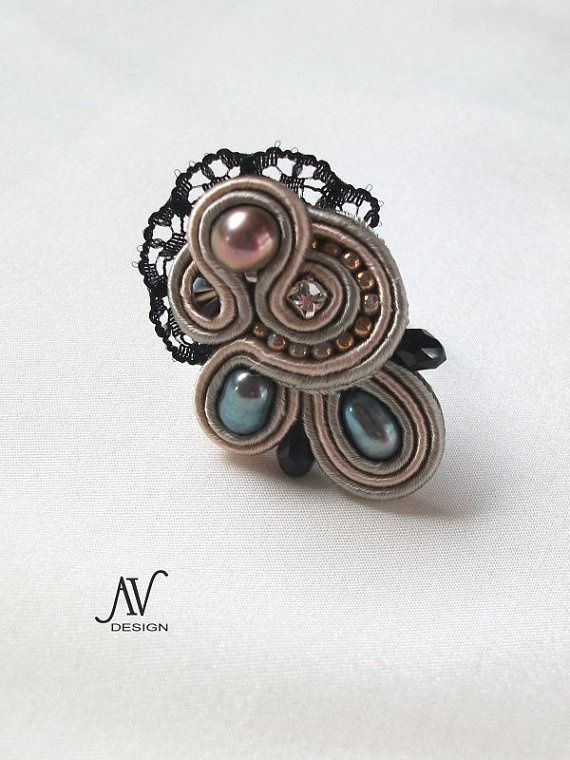 INCONNUE  ring by AnnetaValious on Etsy, $80.00