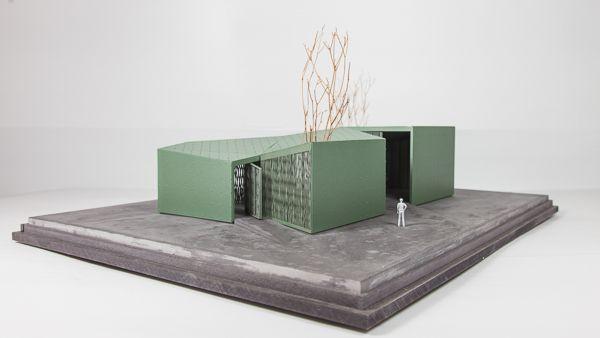 Scale 1/50 #architecture #maquette #rotterdam #modelmaking #MBM #robbrechtendaem