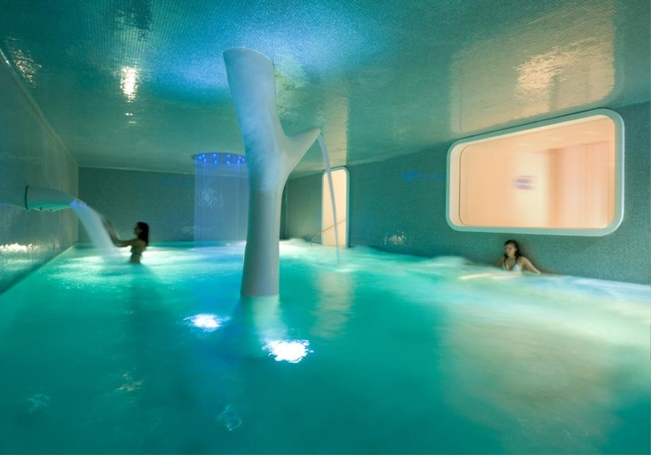 Take a Spa Break: Spa Wellness Centre at Boscolo Exedra Nice, France    Hyper-contemporary, designed...