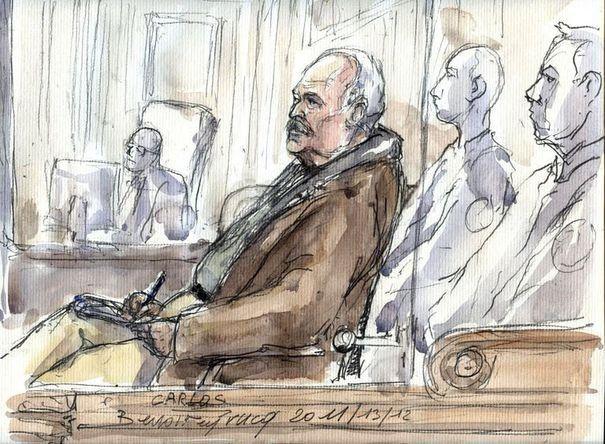 La cour se retire pour délibérer après avoir écouté Carlos refaire son procès par Benoit Peyrucq