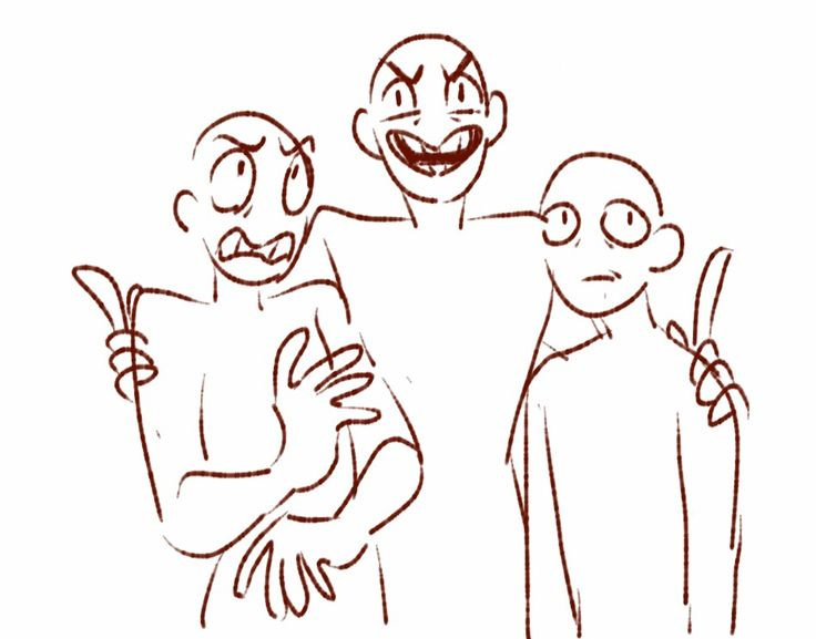 Drawing Poses 3 Funny Your People Squad