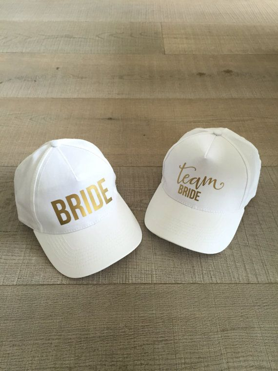 Bachelorette hat bride hat team bride hat by HopStudio on Etsy