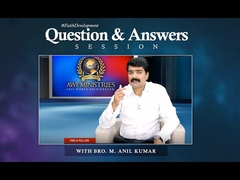 Bro Anil Kumar - TV Message - 06 Dec 2015