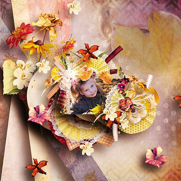 *** NEW ***  Autumn Sunrise by Véro - The French touch - Véro Scrap   http://www.myscrapartdigital.com/shop/index.php?main_page=index&cPath=24_102