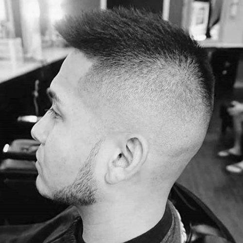 Short Fohawk Haircut