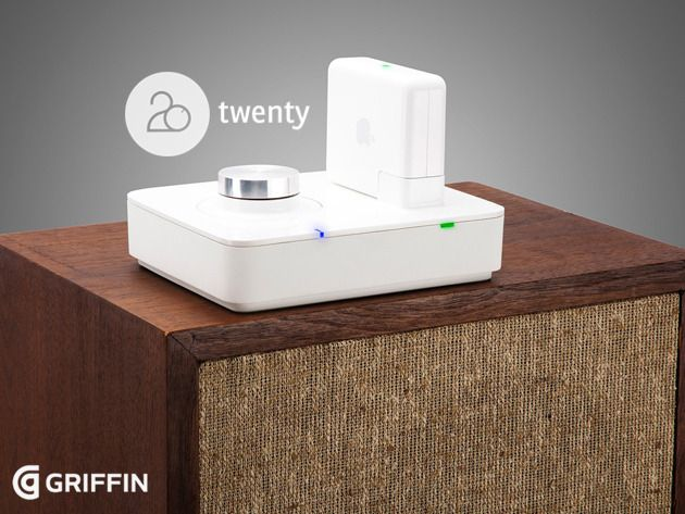 The Griffin Twenty: Easily Make Your Favorite Speakers Airplay-Compatible - An Airport Express Amp That Brings Your Wired Speakers Back to Life