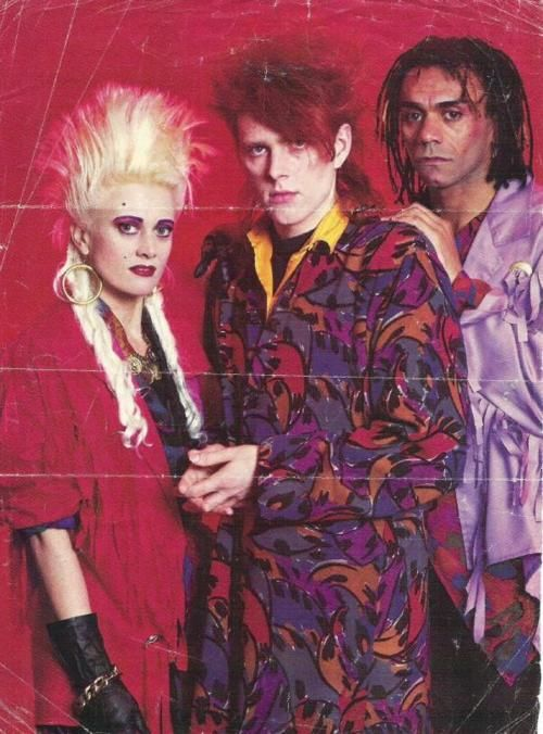 The Thompson Twins, early 80s, 1980s fashion