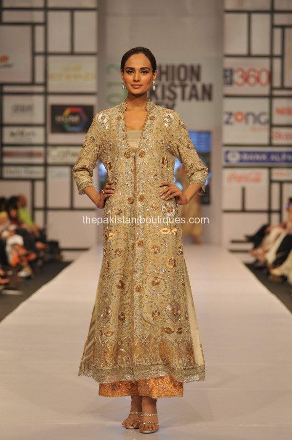 Day1 Bunto Kazmi Collection at Fashion Pakistan Week (FPW 3) 2012
