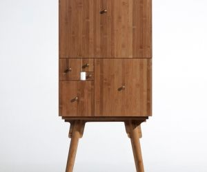 Fibonacci Cabinet by Utopia Architecture & Design