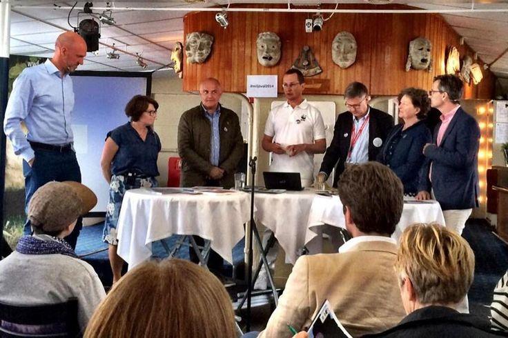 WWF Sweden climate change investor panel