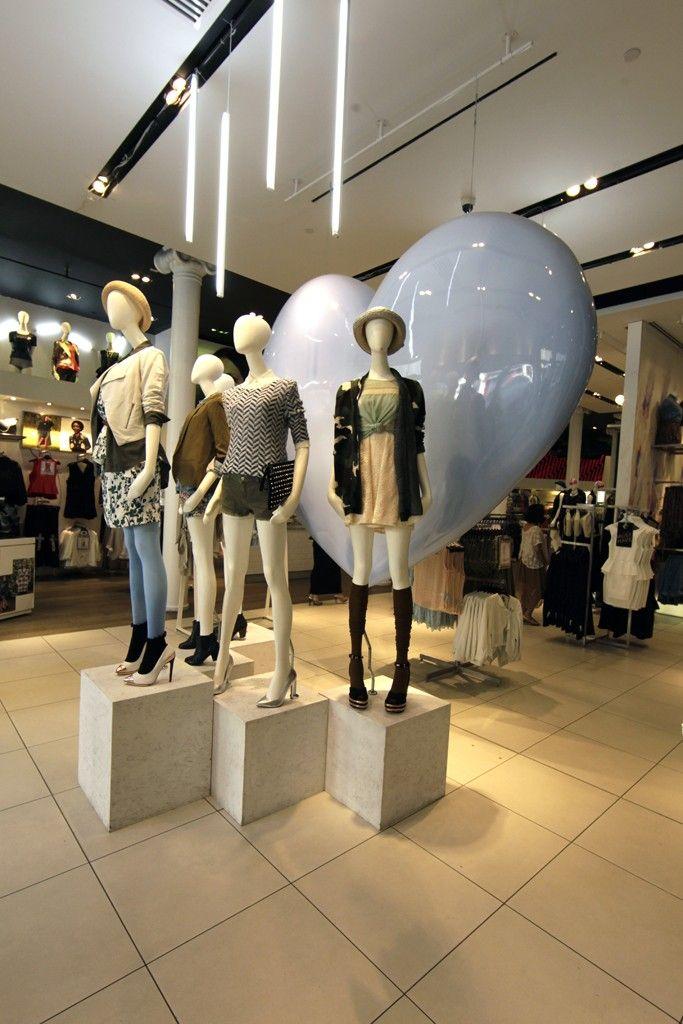 Nordstrom to Open Topshop Departments - Topshop mannequins.