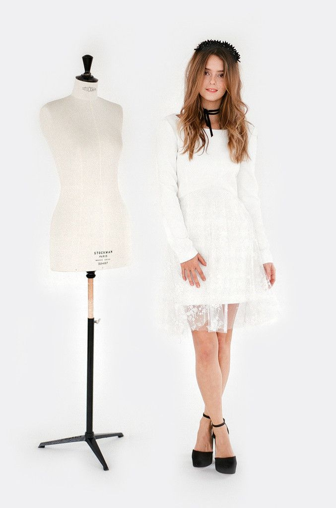 p o r t m a n - Complicit Mariage Robe Cocktail