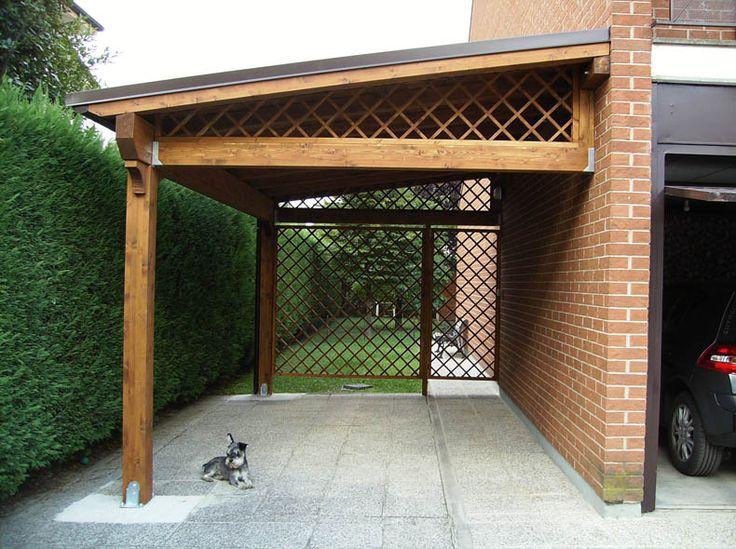 Las 25 mejores ideas sobre portones de garage en pinterest for Ideas para techos de madera