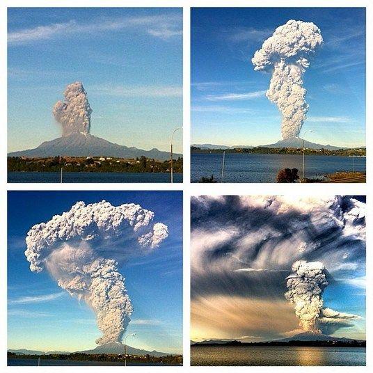 Aqui, os blogueiros mostram ainda como o vulcão explodiu em pouco tempo.— Evolução da erupção do Vulcão Calbuco! Diferença de 1 hora da primeira foto para a últimaSegredo revelado! Onde as aeromoças dormem durante os voos longos?Turistas passam vergonha com as maiores gafes do mundo