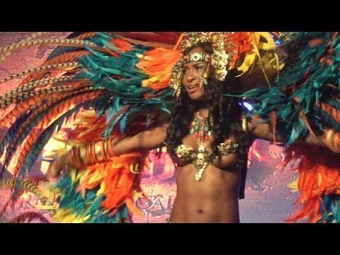PRÉSENTATION de COSTUMES. -- Trinidad Carnival 2015 Yuma Band Launch - YouTube
