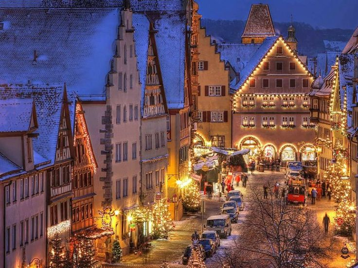 rothenburg ob der tauber christmas capital christmas market 2016