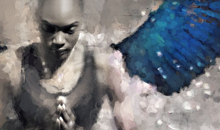 Coming from NY, I started working on a new Series, a meditative figurative collection of artworks revolved around the theme of Praying.  This is an excerpt of the first work in progress..  The model here is the lovely Sirap Dupree.  #digitalart #modernart #contemporaryart #fineart #finearts #kunst #art #artlover #artcollector #artgallery #artmuseum #emergingartist #collectart