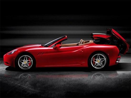 New Ferrari California 2012.