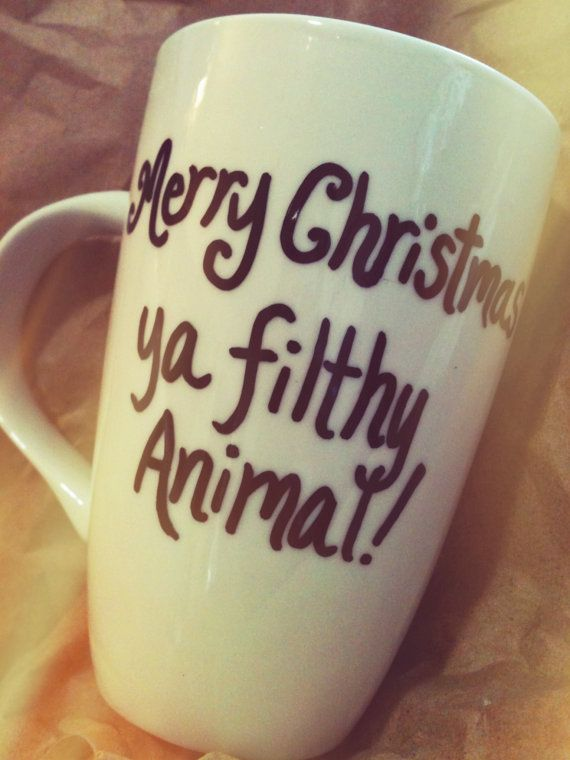 Get your favourite Christmas movie quotes on your very own coffee cup!  Convo me with your ideas on creating your perfect cup.  nationallapoonschristmasvacation/christmasstory/homealone