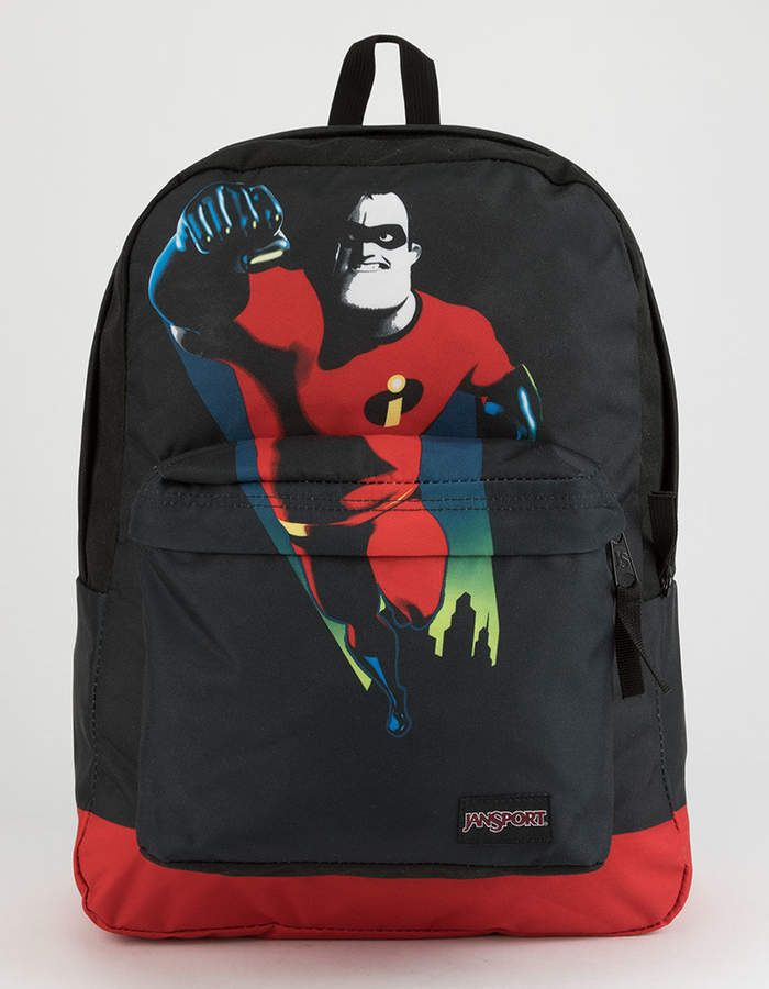 058b278f16e6 Jansport x Disney Pixar Incredibles 2 Saving The Day High Stakes Backpack  with Mr. Incredible