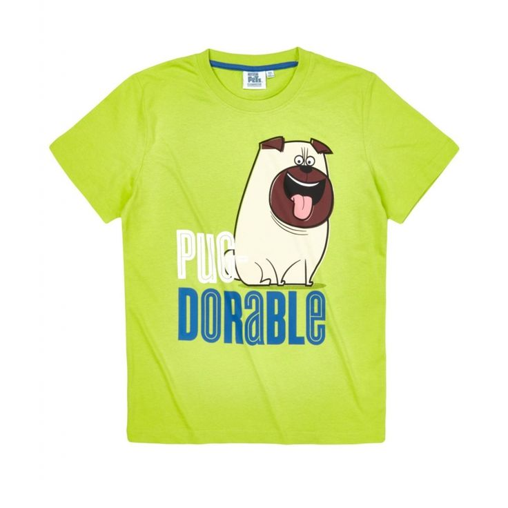 Tricou Secret Life of Pets verde